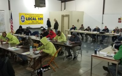 Xtreme Elements Thanks Local 109 for Safety Training efforts