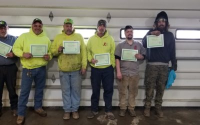 Congratulations Xtreme Elements Forklift Operator Training Participants!